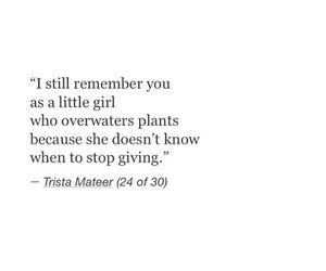Trista quote