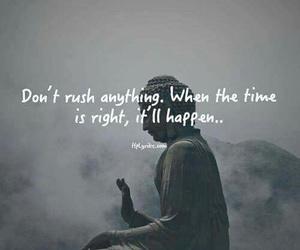 quotes, life, and Buddha image