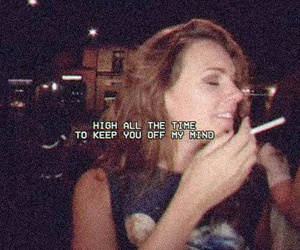 tove lo, high, and grunge image