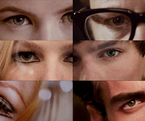 eyes and a single man image