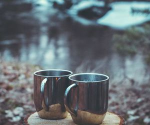 coffee, nature, and tea image