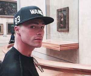 colton haynes, art, and Hot image