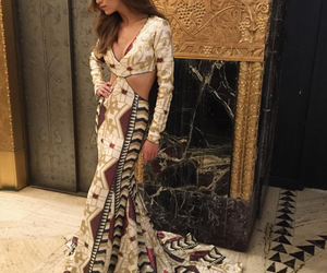 female model, samantha gradoville, and this dress is amazing image