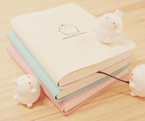 cute, kawaii, and book image