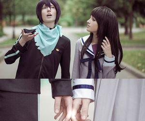 yato, noragami, and cosplay image