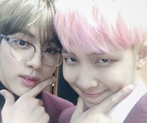 bts, jin, and namjin image