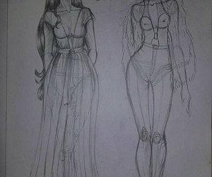 creative, dress, and art image