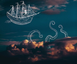 pirate and sky image
