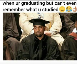 funny, lol, and graduation image