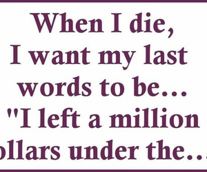 funny, quotes, and die image