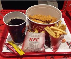 chips, food, and KFC image