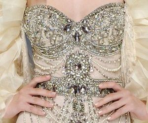 dress, fashion, and diamond image