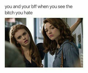bff, bitch, and teen wolf image