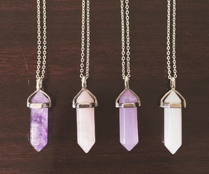 crystal, necklace, and accessories image