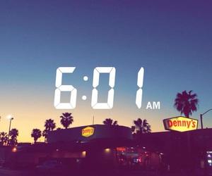 horizon, la, and snapchat time image