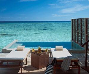 sea and pool image