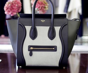 bag, blackandwhite, and purse image