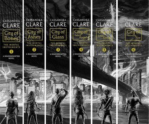 book, shadowhunters, and the mortal instruments image