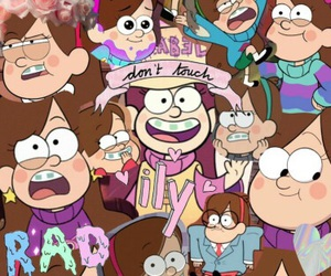 Collage, gravity falls, and mabel image