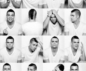 glee, mark salling, and puck image