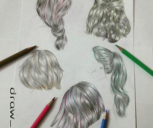anime, draw, and pastel image