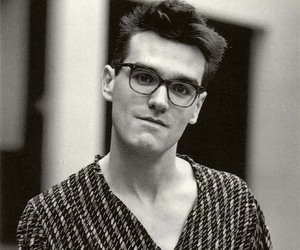 morrissey, the smiths, and glasses image