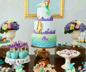 candy bar, sweet, and the little mermaid image