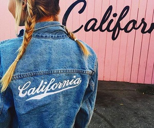 california, girl, and fashion image