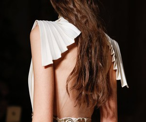dress, Valentino, and white image