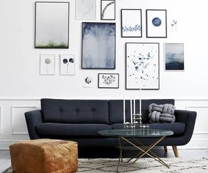 art, blue, and gray image