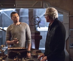 victor garber, jefferson jackson, and legends of tomorrow image
