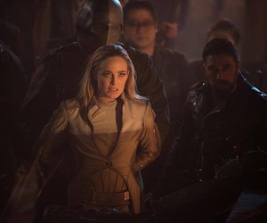 sarah lance, legends of tomorrow, and white canary image