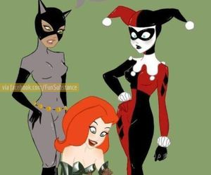 groot, poison ivy, and catwoman image