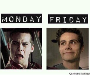 friday, monday, and teen wolf image