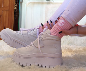 pink, tumblr, and white image