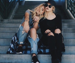 friends, friendship, and style image