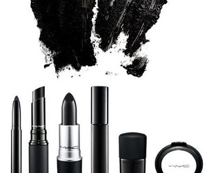 mac, black, and lipstick image