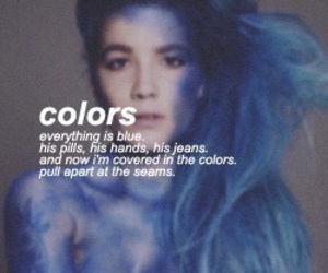 halsey, colors, and badlands image