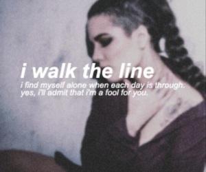 halsey, i walk the line, and badlands image
