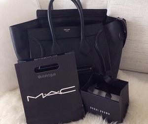 mac, bag, and black image
