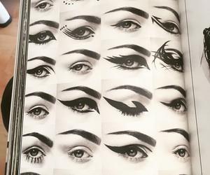 eyeliner, kerli, and eyes image