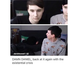 youtube, amazingphil, and danisnotonfire image