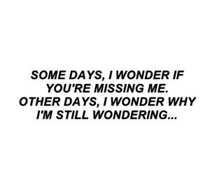 quotes, sad, and wonder image