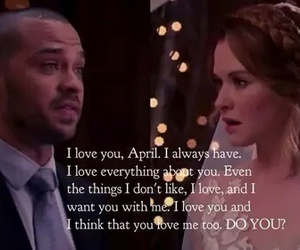 grey's anatomy, wedding, and jackson avery image