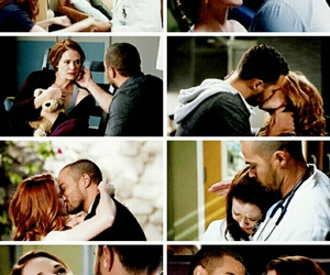greys anatomy, april kepner, and japril image