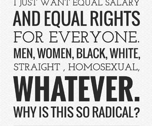 easel, equality, and feminism image