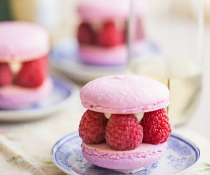 desserts, macarons, and food image