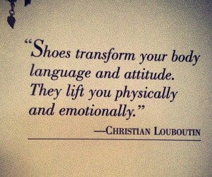 shoes, quotes, and louboutin image