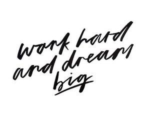 quotes, Dream, and work image