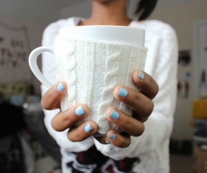mug, tumblr, and nails image